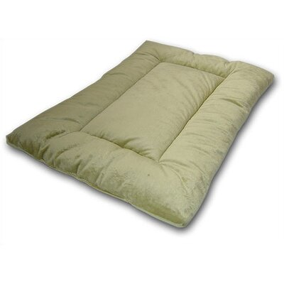 "Plush Sleep-ezz Dog Mat Color: Sage Green, Size: Small (24"" L x 18"" W)"