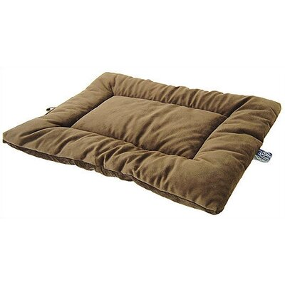 "Plush Sleep-ezz Dog Mat Color: Coco Brown, Size: Large (36"" L x 23"" W)"