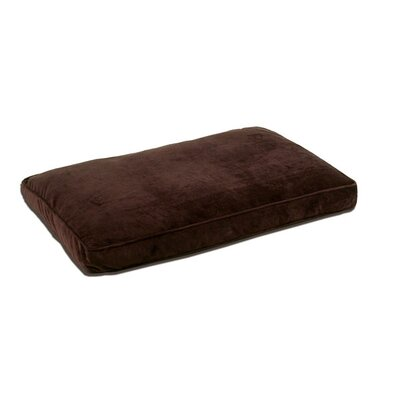 Duvet Dog Bed Cover Color: Coco Brown