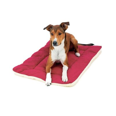 "Classic Sleep-ezz Dog Mat Color: Burgundy, Size: Extra Small (19"" L x 13"" W)"