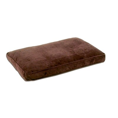 Ultra Bliss Pet Dreams Memory Foam Dog Bed Duvet Cover Size: Small, Color: Coco Brown