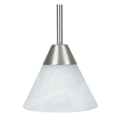 1-Light Mini Pendant Finish: Nickel
