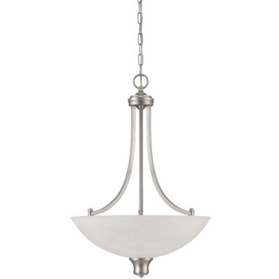Alton 3-Light Bowl Pendant