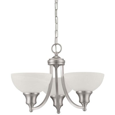 Alton 3-Light Shaded Chandelier