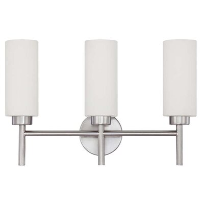 Sunset Lighting Rossington 3-Light Vanity Light
