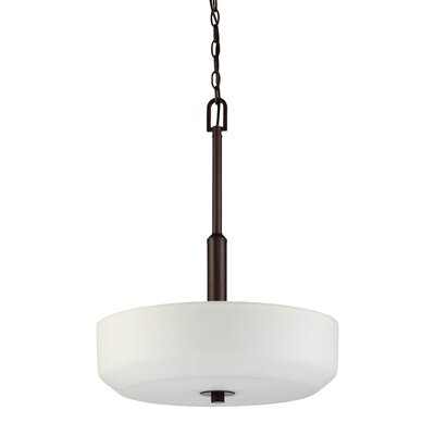 Quartz 3-Light Bowl Pendant Base Finish: Provincial Bronze