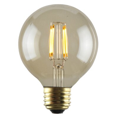 2W Amber 26 LED Light Bulb