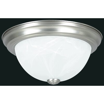 2-Light LED Flush Mount