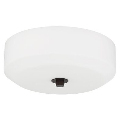 Quartz 3-Light Flush Mount Base Finish: Provincial Bronze