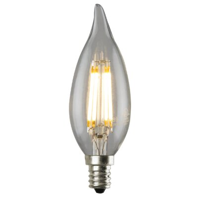 3.5W Equivalent E12 LED Candle Light Bulb