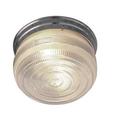 Beckstead 2-Light Flush Mount Finish: Polished Chrome