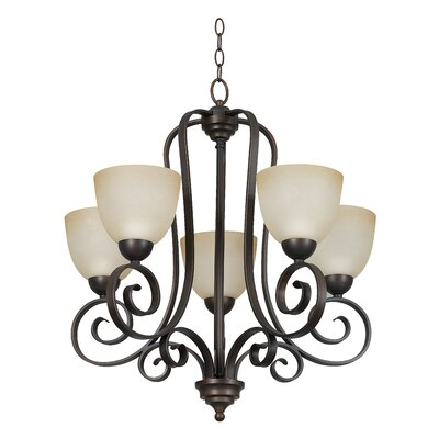 Provano 5-Light Shaded Chandelier