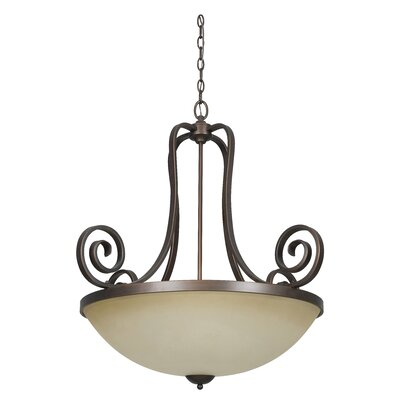 Provano 3-Light Bowl Pendant