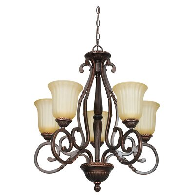 Graham 5-Light Shaded Chandelier