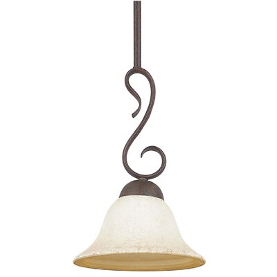 Westover 1-Light Inverted Pendant Color: Rubbed Bronze