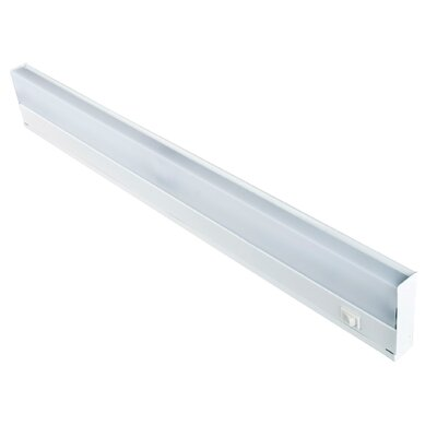 Fluorescent Under Cabinet Bar Light Size: 24.5 L