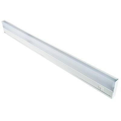 Fluorescent Under Cabinet Bar Light Size: 33.5 L