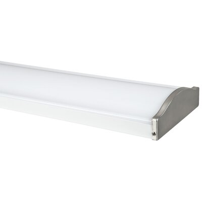 2-Light Ceiling Light Finish: Bright Satin Nickel