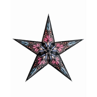 Starlightz 1-Light Luminary Finish: Black and Pink