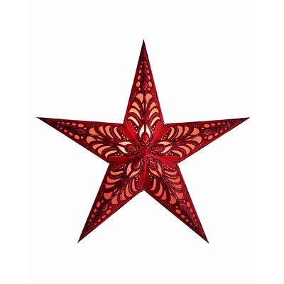 Starlightz 1-Light Luminary Finish: Red