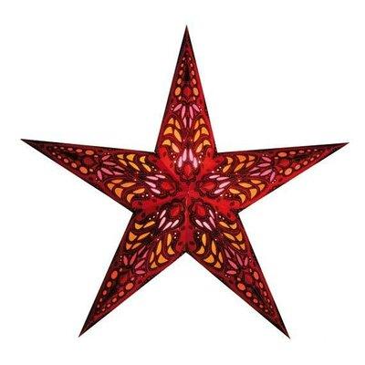 Starlightz 1-Light Luminary Finish: Red