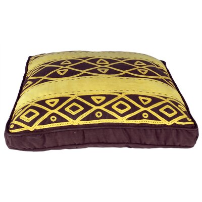 African Embroidery Throw Pillow (Set of 2)
