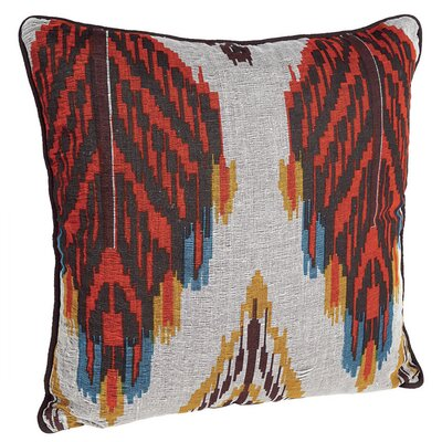 Feather Yarndye Cotton Throw Pillow (Set of 2)
