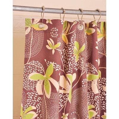 Botanical Cotton Shower Curtain (Set of 2)