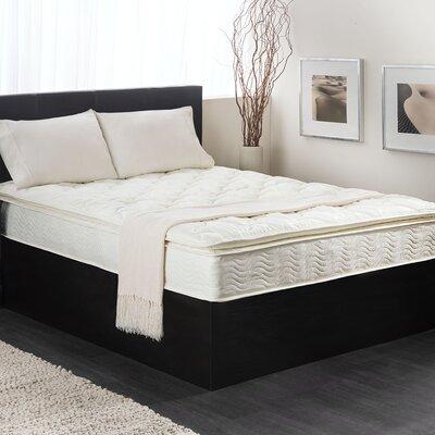 Textrade USA Inner Spring Pillow Top Mattress in A Box King