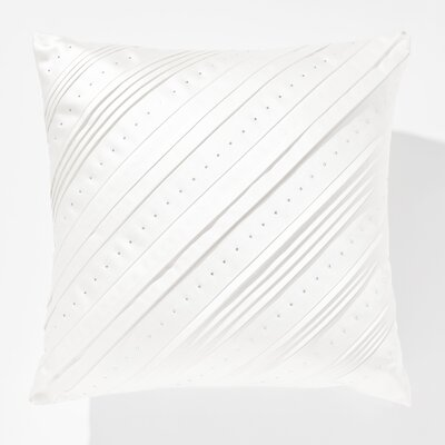 Dazzling Celtic Swarovski� Throw Pillow Color: White