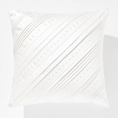 Dazzling Celtic Swarovski Throw Pillow Color: White
