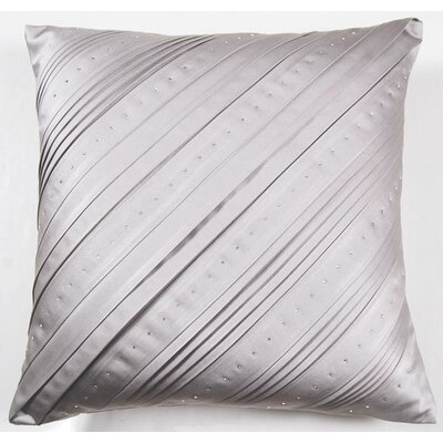 Dazzling Celtic Swarovski� Throw Pillow Color: Gray