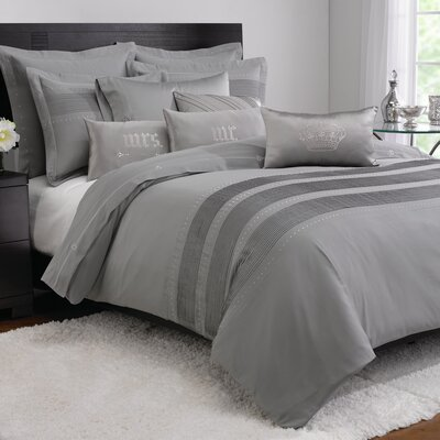 Eros Duvet Cover Size: King