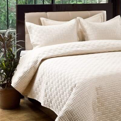 Oxford 3 Piece Quilt Set Size: King