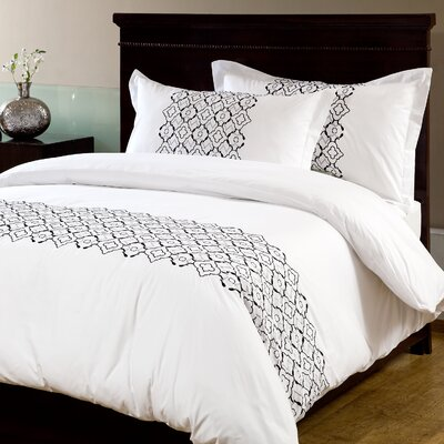 Turin 3 Piece Duvet Set Size: Queen