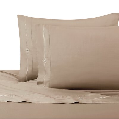 Memento Swarovski� Sheet Set Size: Full / Queen, Color: Taupe