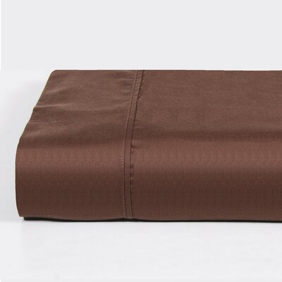 Walra 400 Thread Count Solid Sheet Set Size: Queen, Color: Brown