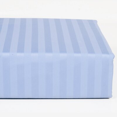 Walra 400 Thread Count Stripe Sheet Set Size: King, Color: Blue