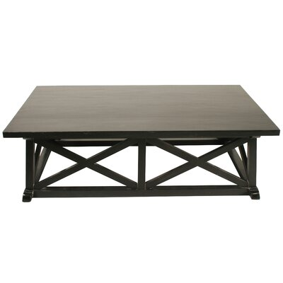 Sutton Coffee Table Color: Hand Rubbed Black
