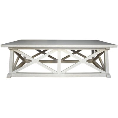 Sutton Coffee Table Finish: White