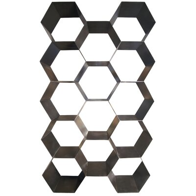 Bee Hive Metal Accent Shelves Bookcase Product Photo