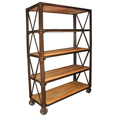 Special Elm Etagere Bookcase Product Photo