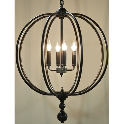 4-Light Globe Pendant