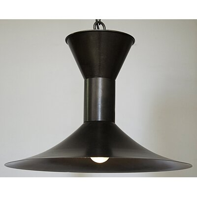 1-Light Inverted Pendant Finish: Natural