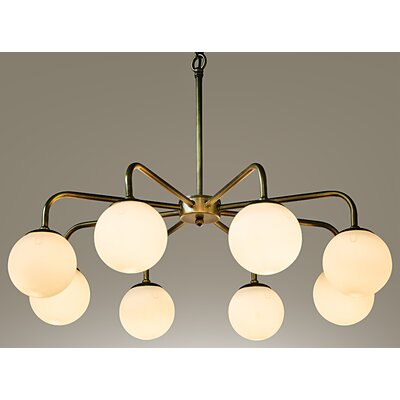 Larenta 8-Light Sputnik Chandelier