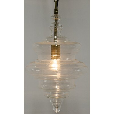 Tic 1-Light Schoolhouse Pendant