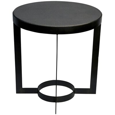 Parker End Table Color: Black