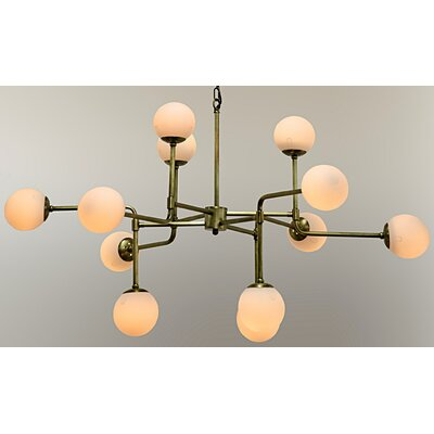 Taranto 12-Light Sputnik Chandelier