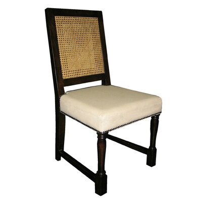 Colonial Solid Wood Dining Chair Finish: Distressed Brown