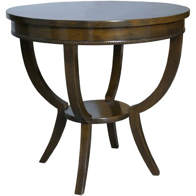 Scheffield End Table Color: Distressed Brown